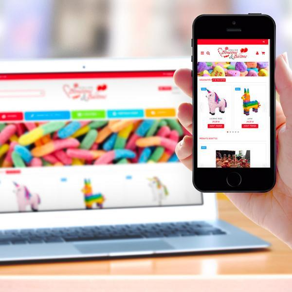 SITE E-COMMERCE ALIMENTATION