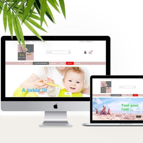 SITE E-COMMERCE PUERICULTURE